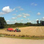 Mollett's Farm webcam view in Summer