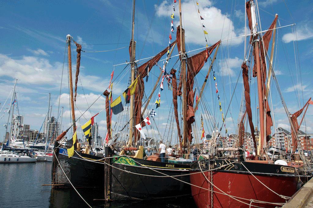 Ipswich Maritime festival boats