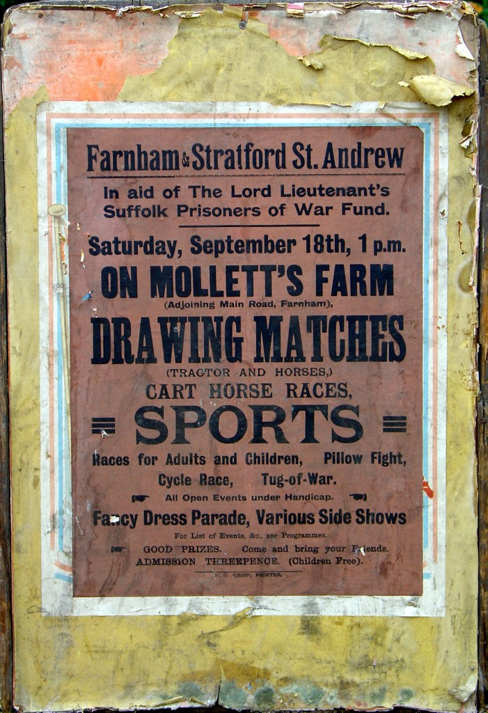 Original 1943 poster for Drawing Matches at Mollett's Farm