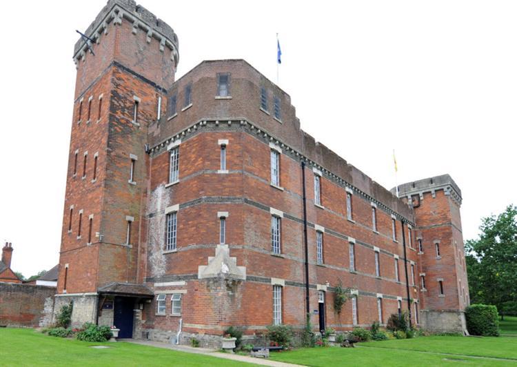The Suffolk Regiment Museum building