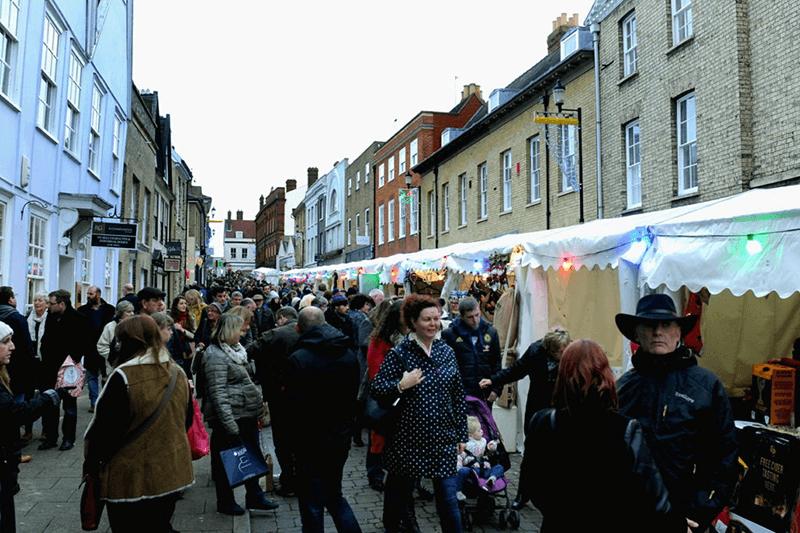Stalls on Hatter Street