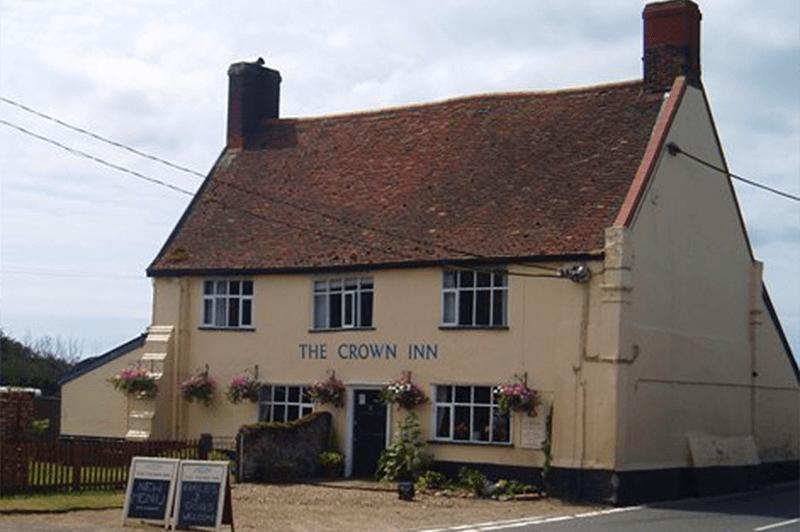 Outside The Crown Inn, Snape Suffolk