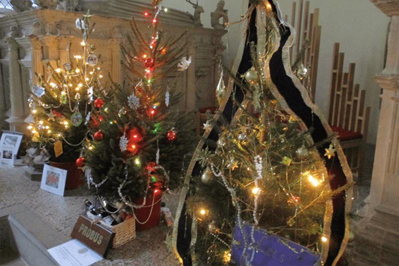 Framlingham Christmas Tree Festival
