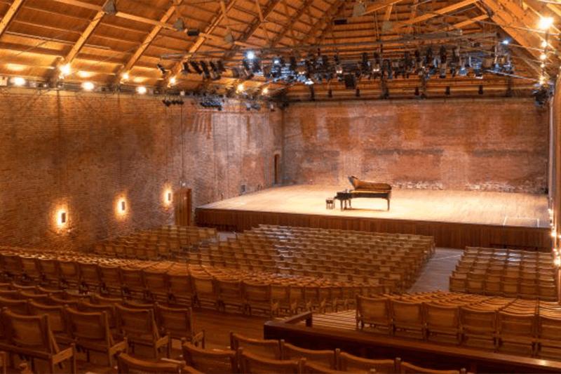 Inside Snape Maltings Concert Hall