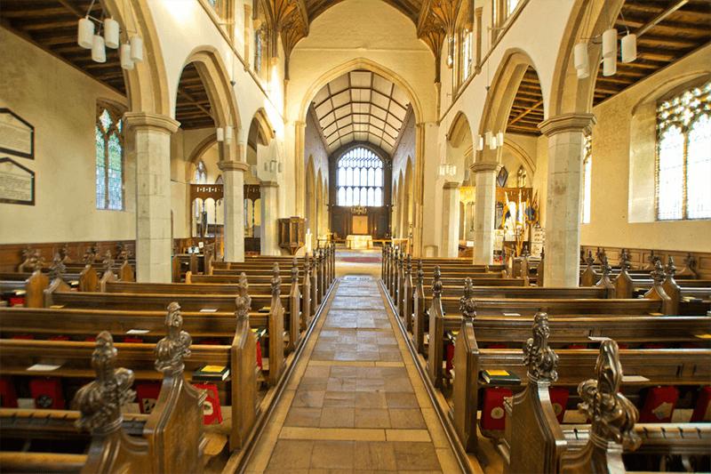 Framlingham Church interior