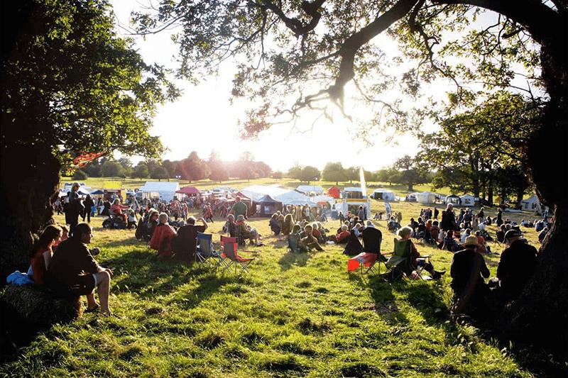 Suffolk Festival in the sunlight