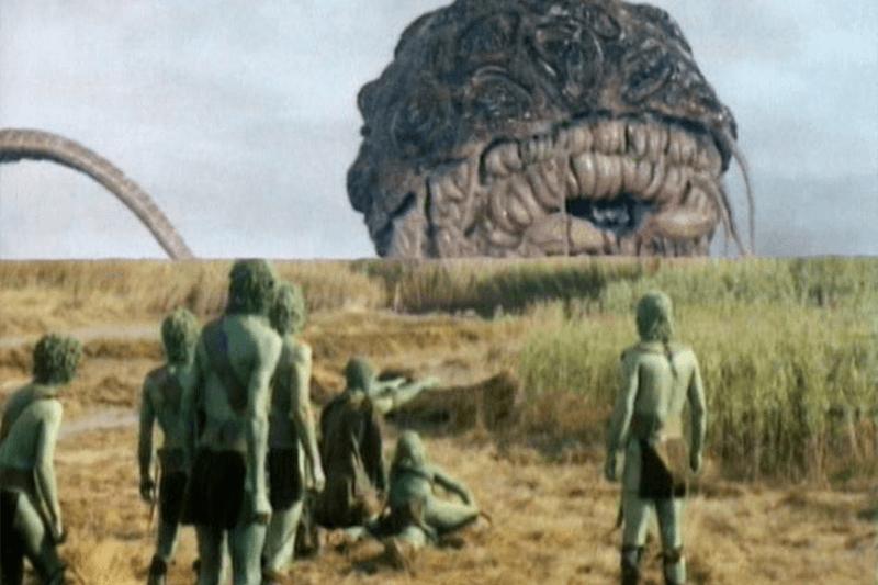 Green  men Doctor Who