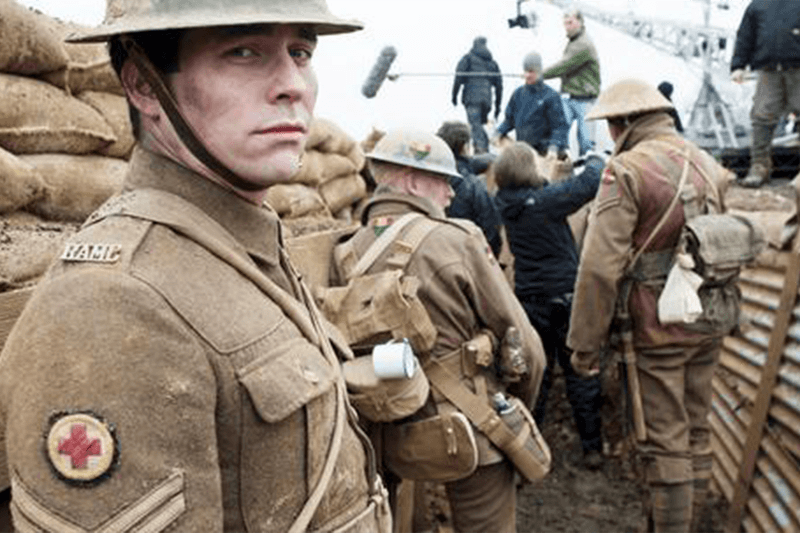 In the trenches at the battle of the somme