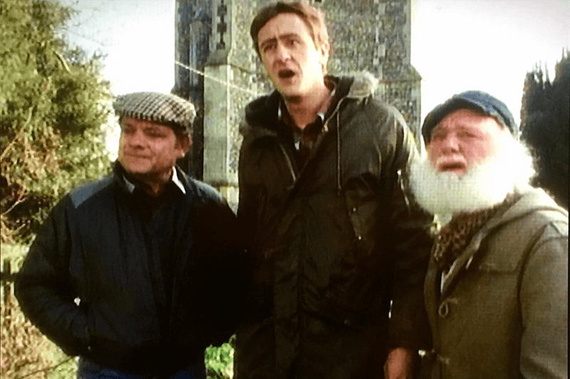 Del Boy Rodney and Uncle Albert