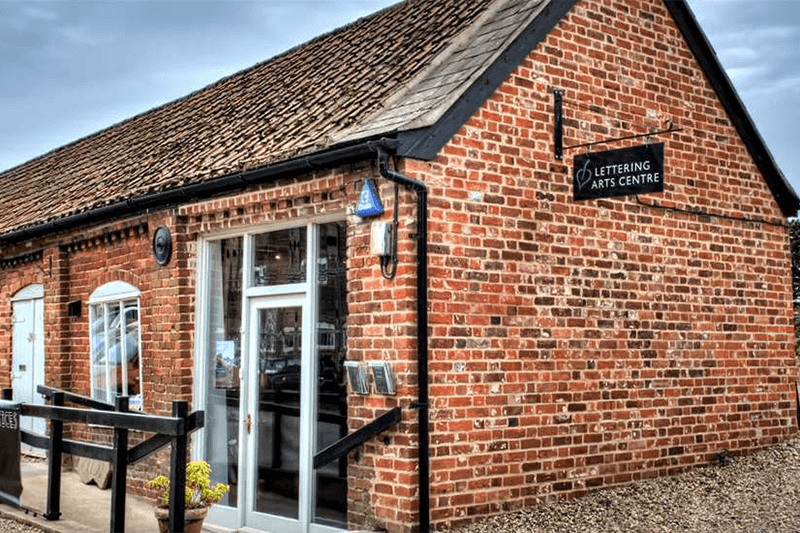 Snape Maltings Lettering Gallery