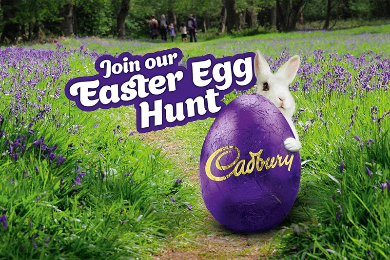 Cadburys Easter egg hunt logo