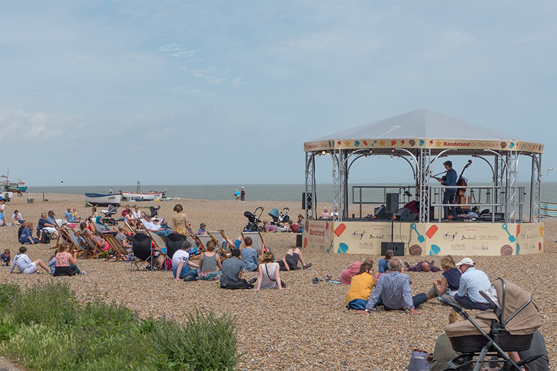 Aldeburgh Music on the beach