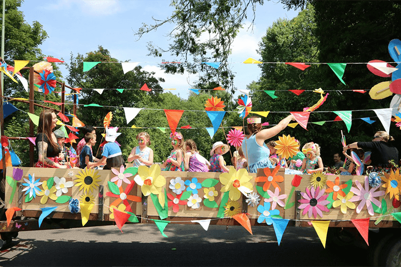 Framlingham Gala Fest Flower Theme