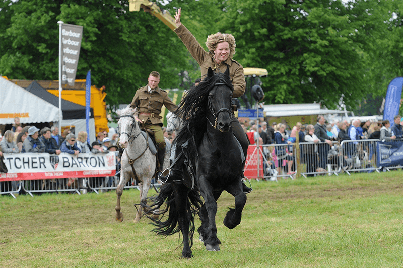 Horse Show Suffolk Show