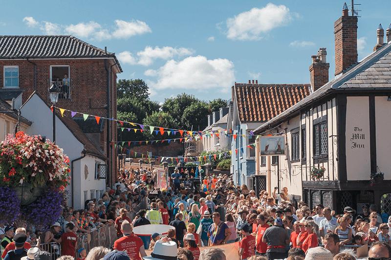 Aldeburgh Carnival Suffolk Staycation