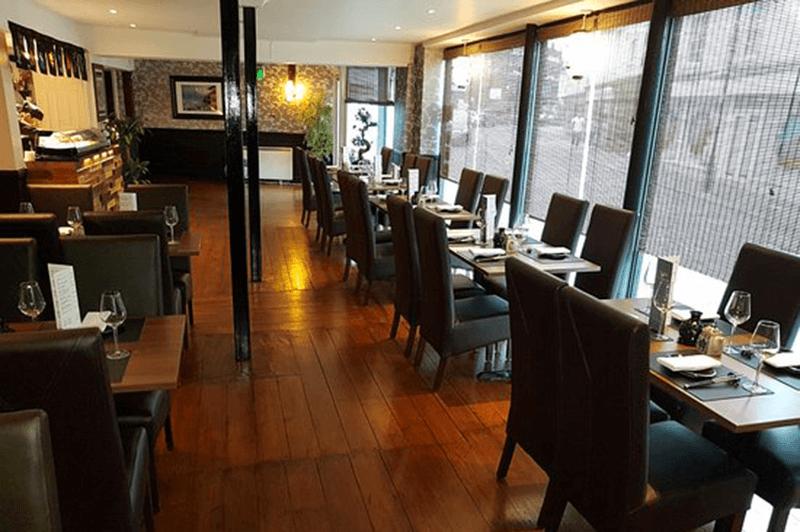 Interior of Takayama Japanese Restaurant Ipswich