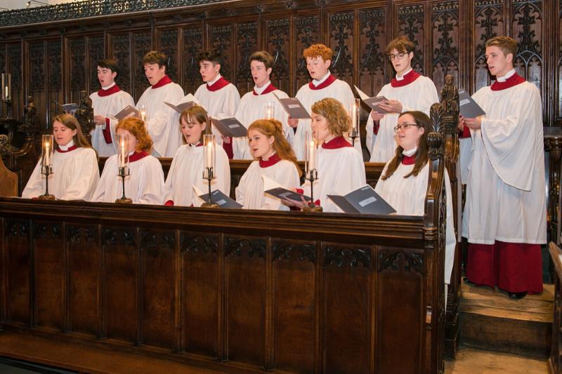 JC Choir at Framlingham