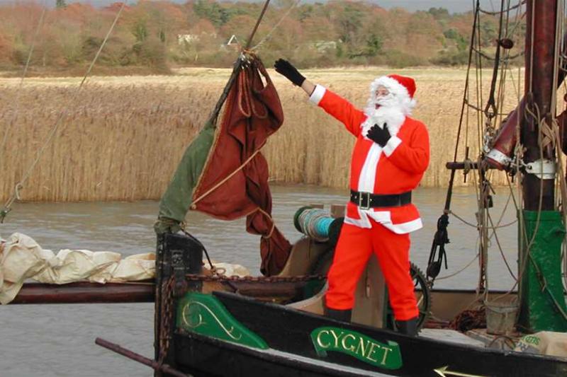 Santa at Snape