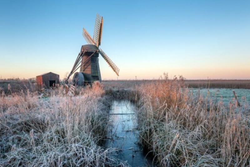 Wintery Suffolk