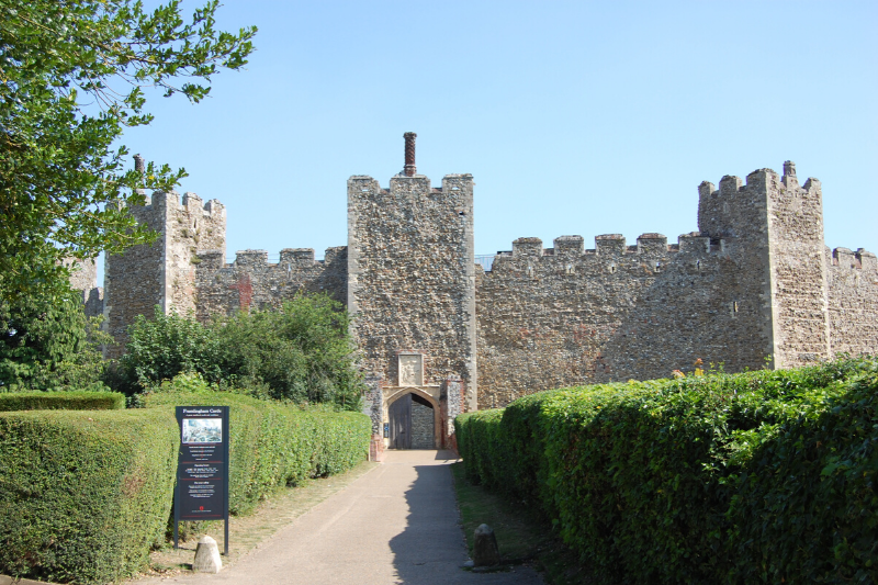 Entrance to Framlingham Castle