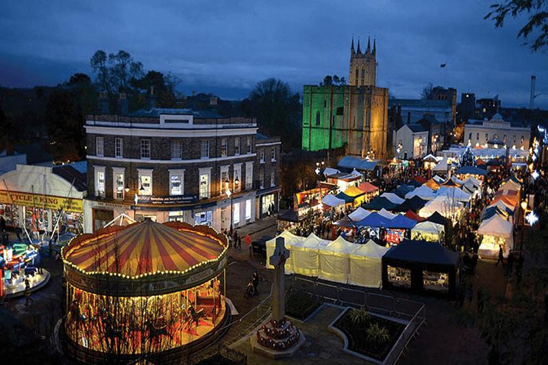 dcc268ab9929 Bury St Edmunds Christmas Market – A long weekend of Festive Fun ...