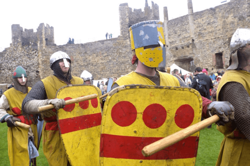 Knights of bloody mary at Framlingham Castle