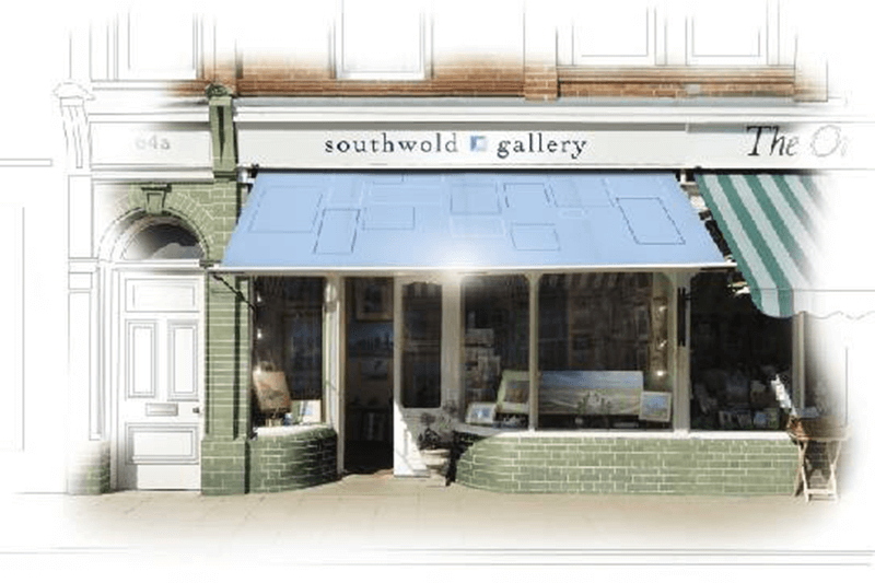 Painting of Southwold Art Gallery